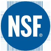 <b>NSF</b> (National Sanitation Foundation) Approved